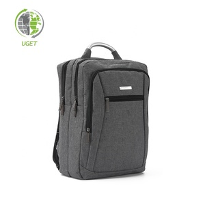 Free Sample Anti Theft Grey Bags New 2018 Antitheft Backpack For Men
