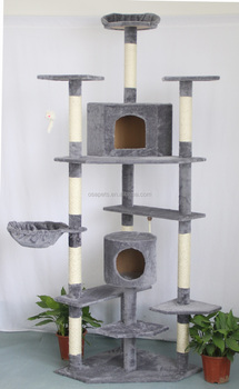 Big Luxury Cat Scratcher Cat Tree For Large Cats Buy Pet Products Wooden Cat Scratching Post Cat Tree Cat Postwooden Cat Tree Pet Productswooden