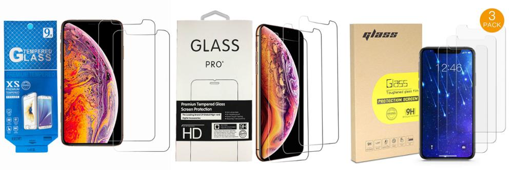 Großhandel 9H 2.5D 0,3 MM Transparent Gehärtetem Glas Für Iphone 11 Pro Screen Protector 5,8 zoll 2019