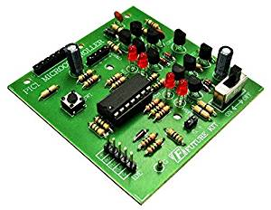 PIC1 Obstacle-Avoiding Robot Controller Electronic Circuit Kit: FA1111C