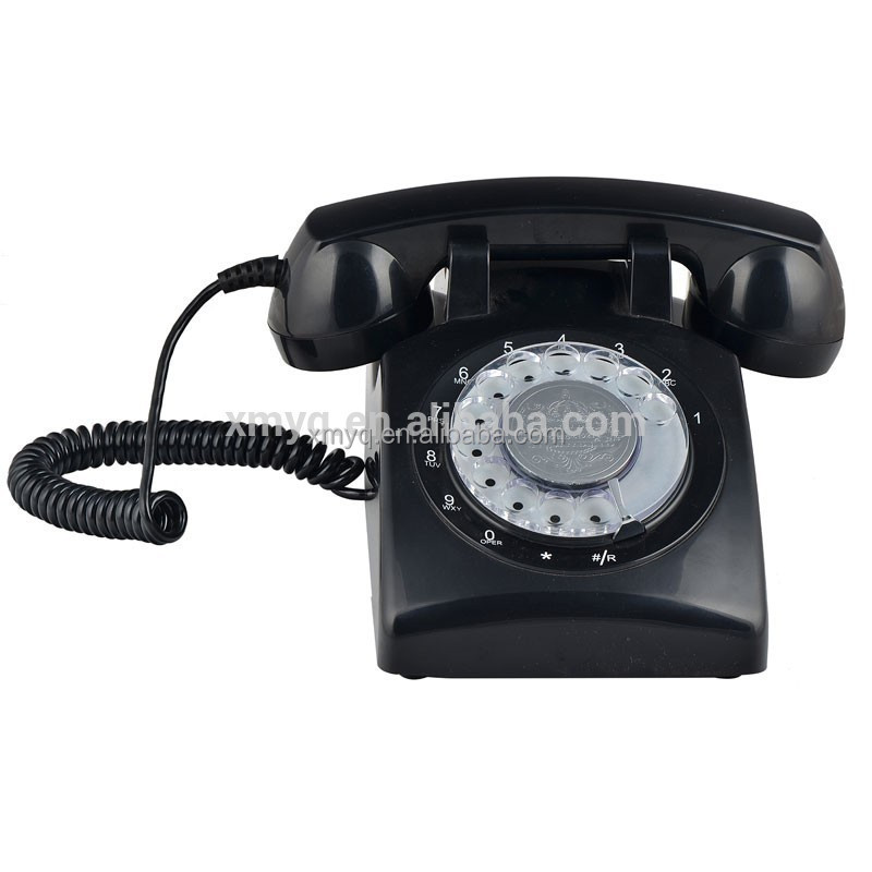sim card Desk Phone Vintage Home Battery Operated Cordless Phone