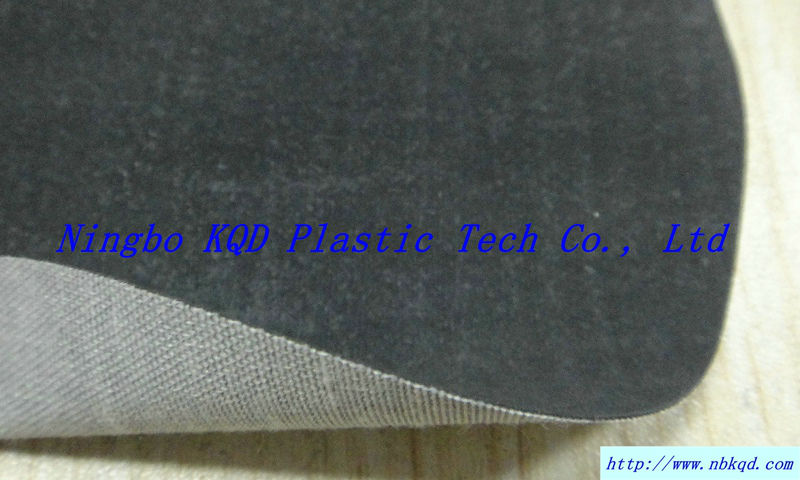 0.45mm thin raincoat rubber fabric for sewing