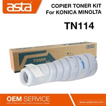 High Quality TN 114 Copier toner Cartridge TN114 for Konica Minolta Bizhub 162/210/7516