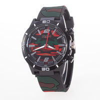 New design silicone watch mood watch for men customs face logo wholesale colour watches