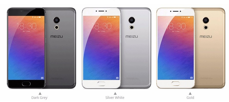 Original Meizu Pro 6 MTK Helio X25 Deca Core Mobile Phone 5.2inch 4GB RAM 32GB/64GB ROM 1920*1080 21.16MP Camera 3D Press