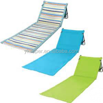 Fashionable Metal Folding Chair Seat Cushions For Beach