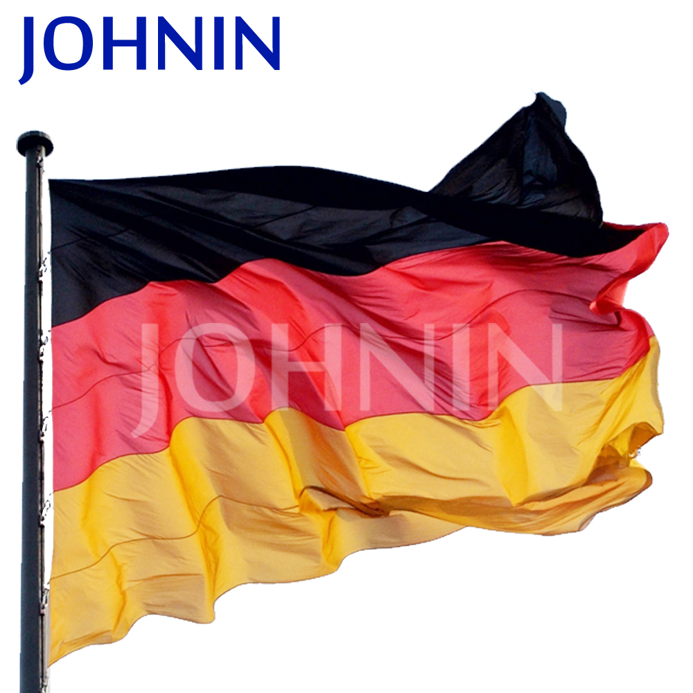 Wholesale 100% polyester Custom 3x5ft Black Red Gold German Flag