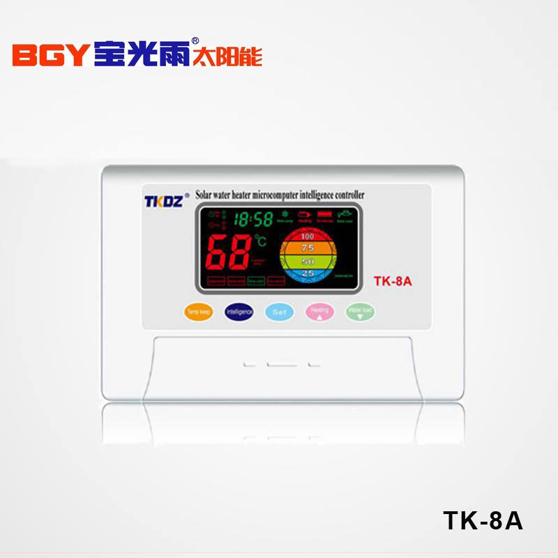 Solar Water Heater Controller Tk-8a Made In China - Buy Solar Water Heater  Temperature Controller,Controller Of Solar Water Heater,Solar Water Heater