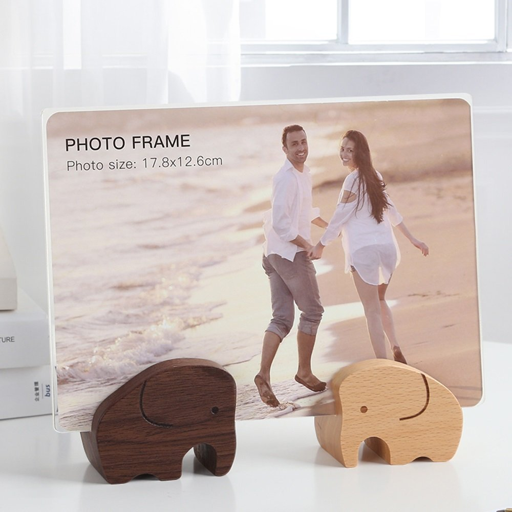 Creative Wooden Frame Photo Frame Seven European-style 7-inch Acrylic Photo Frame Children's Photo Frame Solid Wood Photo Frame