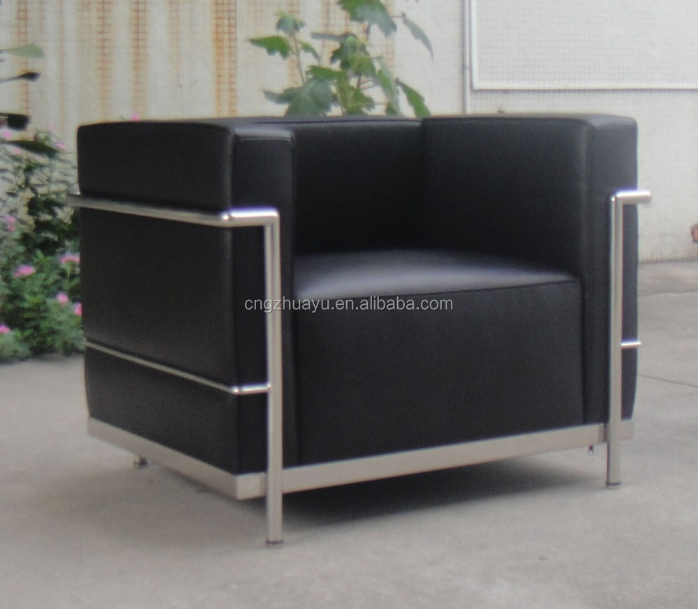 lc3 fauteuil le corbusier lc3 fauteuil canap salon id de. Black Bedroom Furniture Sets. Home Design Ideas