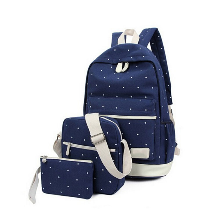 Manufacturers china travel bags sets kids canvas school backpacks wholesale
