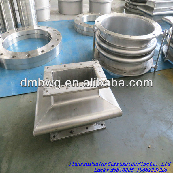 Rectangular Bellow axial compensator/ expansion joint