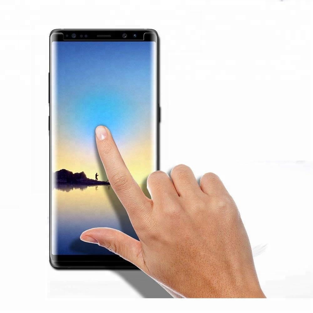 For Galaxy Note 9 Screen Protector Case Friendly,3D Curved Tempered Glass For samsung note 9 note 8 s9 s8