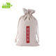 China Factory Cheap Promotion Gift Cotton bamboo drawstring bag