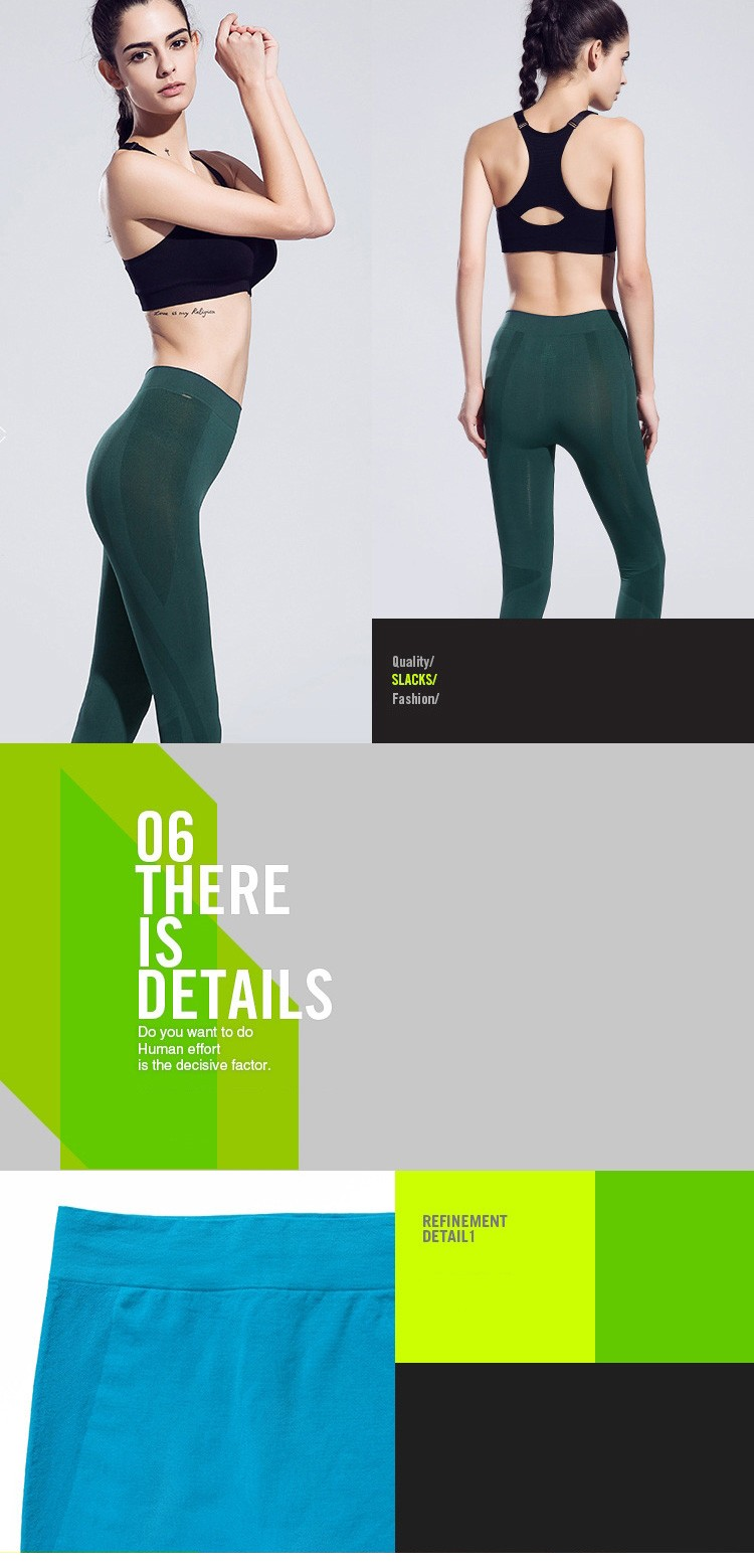 High Elastic Yoga Pants Women Quick Dry Fitness & Yoga Wear Running Leggings