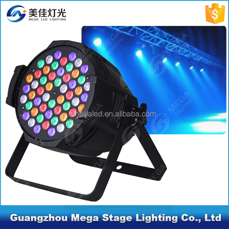 China guangzhou professional rgbw 54x3w stand led par light led stage lights