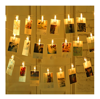 Photo Clips Wall Decoration Lights