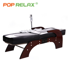 POP RELAX Korea thermal jade massage bed health care infrared heating therapeutic electric jade stone roller rolling massage bed