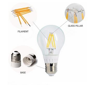 Led Filament Bulb 1w-8w E27 B22 Edison Led Filament Bulb 12v Led ...