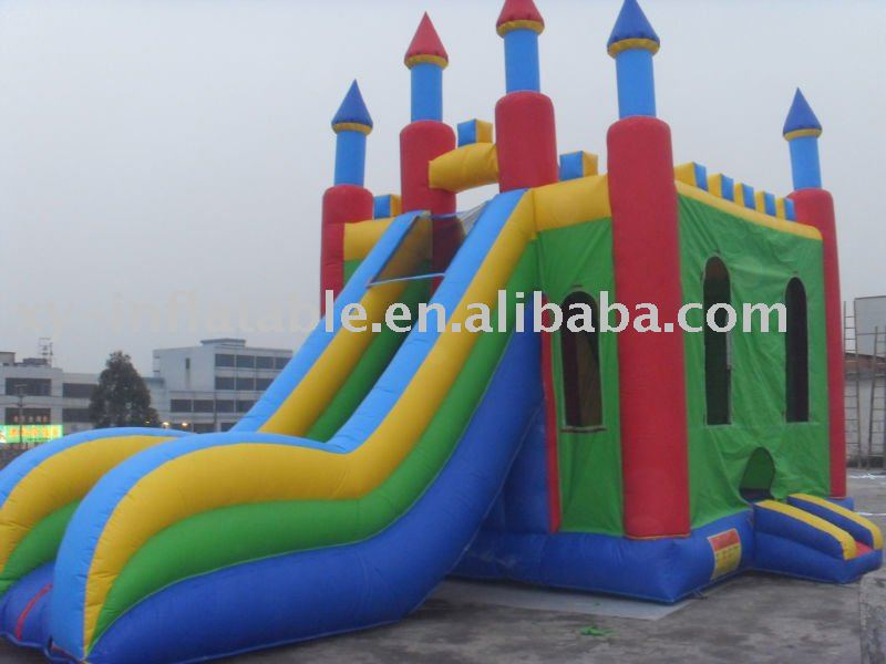 Blues clues giant inflatable combo slide