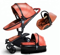 360 Degree free Rotation 3 in 1 Baby Stroller