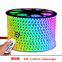 best-selling 5050 rgb led strip light ip68 12v 110v 220v led flexible waterproof led strip