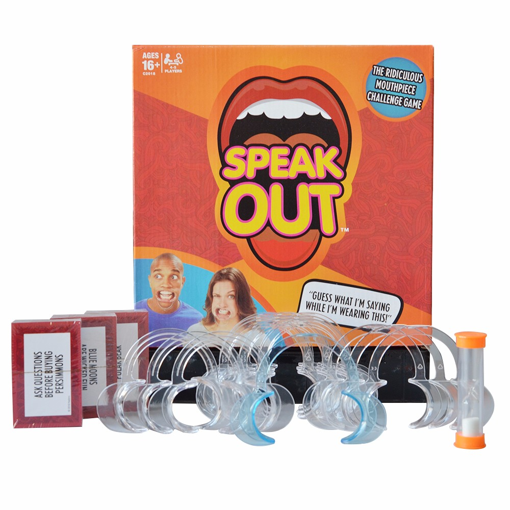 Hot Sell !!! Funny Game Mouthpiece Speak Out Lip And Cheek Retractor Mouth Guard Dental Mouth Opener