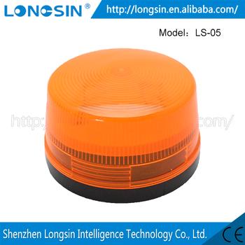 Home Bedroom/office/Bathroom Smoke Detector Alarm Strobe Light Kit 12V