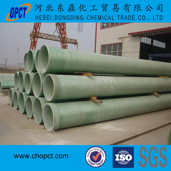 fiberglass pipe used underground to transportation the liquid and gas with low price and high strength