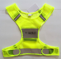 Reflective Vest for Running Cycling Dog Walking | High Visibility & Comfortable | Reflective Running Gear Vest | Motorcycle Refl