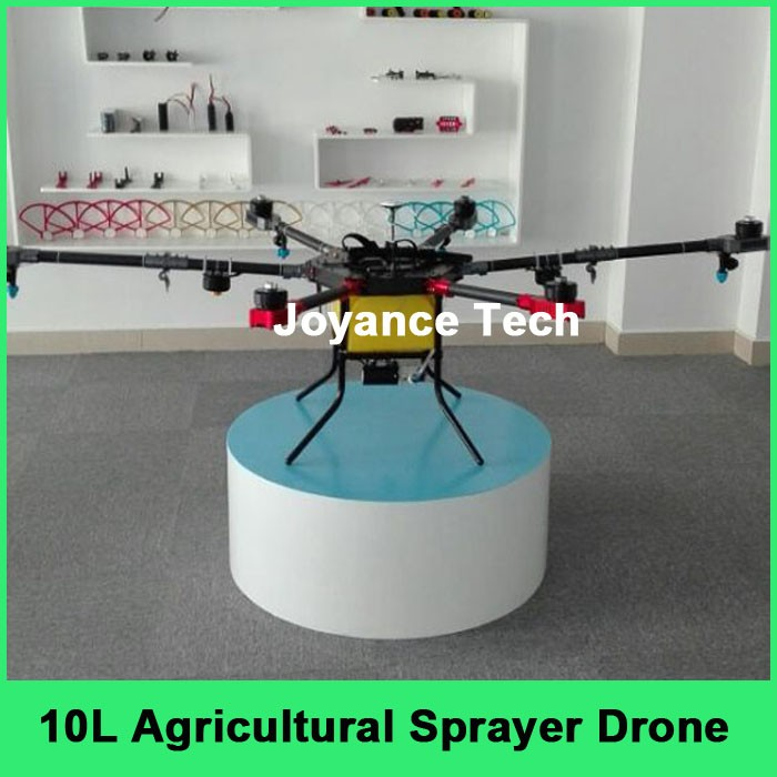 Electric remote control drone agricultural spraying machine for pest control