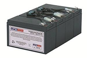 RBC8 Replacement Battery Pack for APC Smart-UPS 1400 RM 3U SU1400RMNET