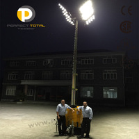 2400w Led Mobile Diesel Electric Light Tower - Buy Electric Light ...