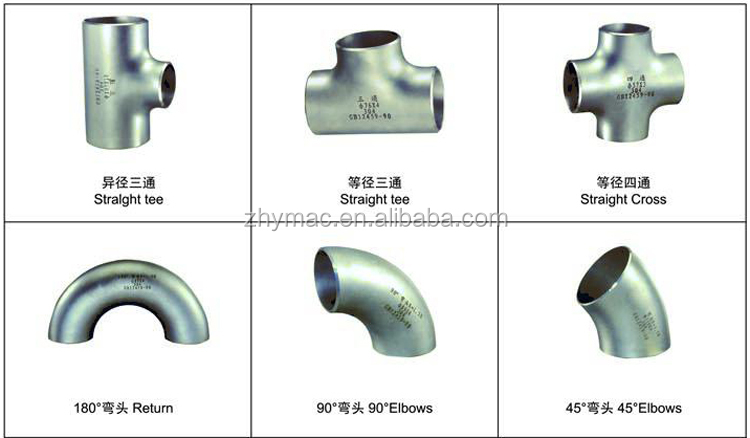 Types of pipe joints stainless steel tube fittings buy