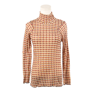 Negotiable Price High Quality Plaid Pure Wool Women's Sweaters
