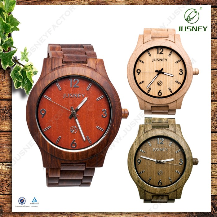 new fashion wooden watch,men woman wrist watch high quality