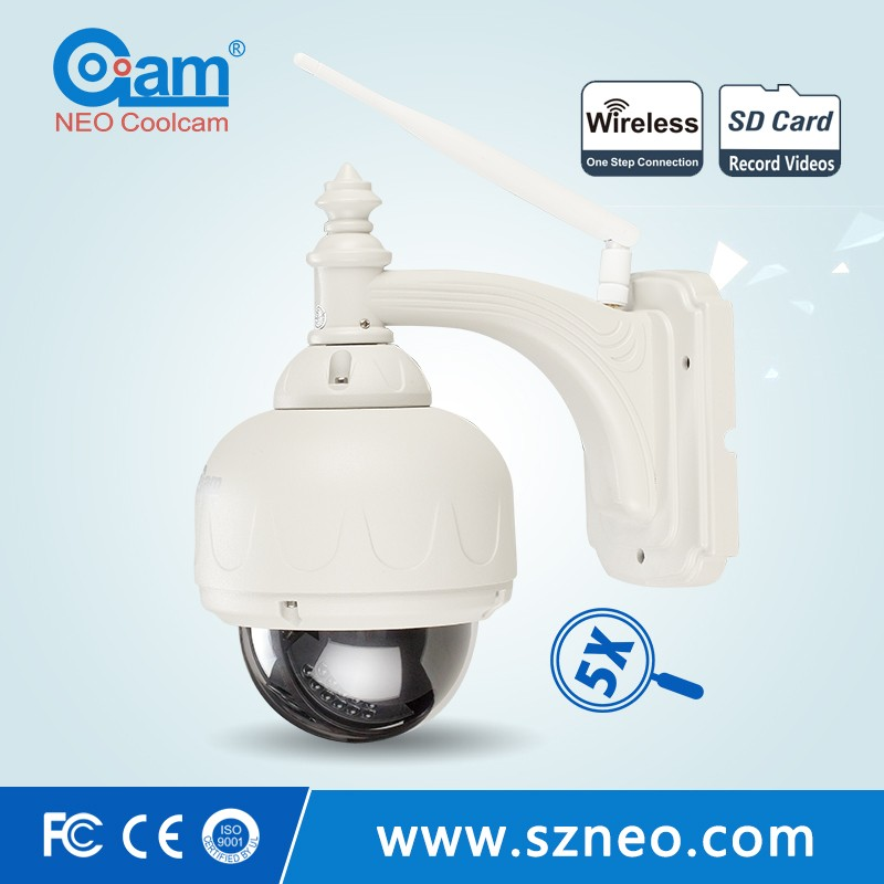 install free play store app 5X optical zoom outdoor wifi cam