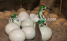 Lifesize Animatronic Hatching Dinosaur Egg Toy