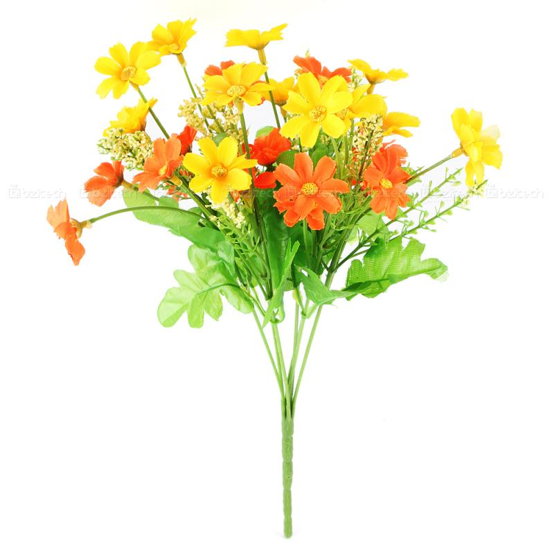 1-Bundle-charming-yellow-Chrysanthemum-artificial-flower ...