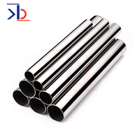 Suppliers China SS 304 316 Welded Stainless Steel Tube Hairline Satin 201 Stainless Steel Round Pipe Price