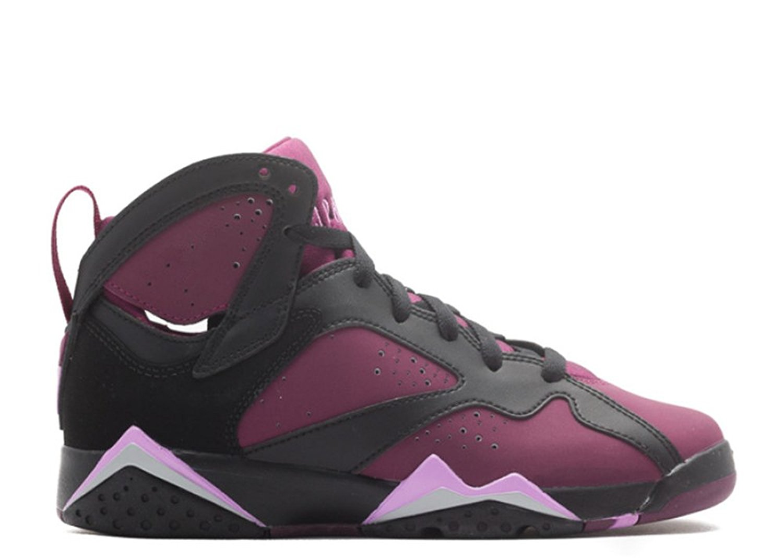 Tony Barnard Retro Basketball Shoe 63600411734 air jordan 7 retro gg black fchs glow mlbrry wlf gry 012450 1 Leather Basketball Shoes