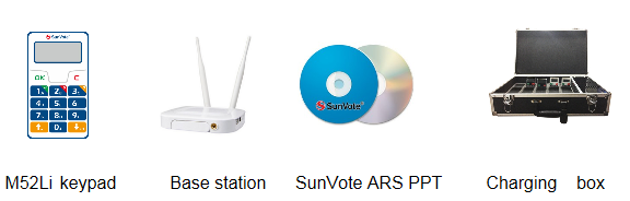 SunVote Wireless Electronic Voting Keypads