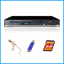 Compact size DVD player