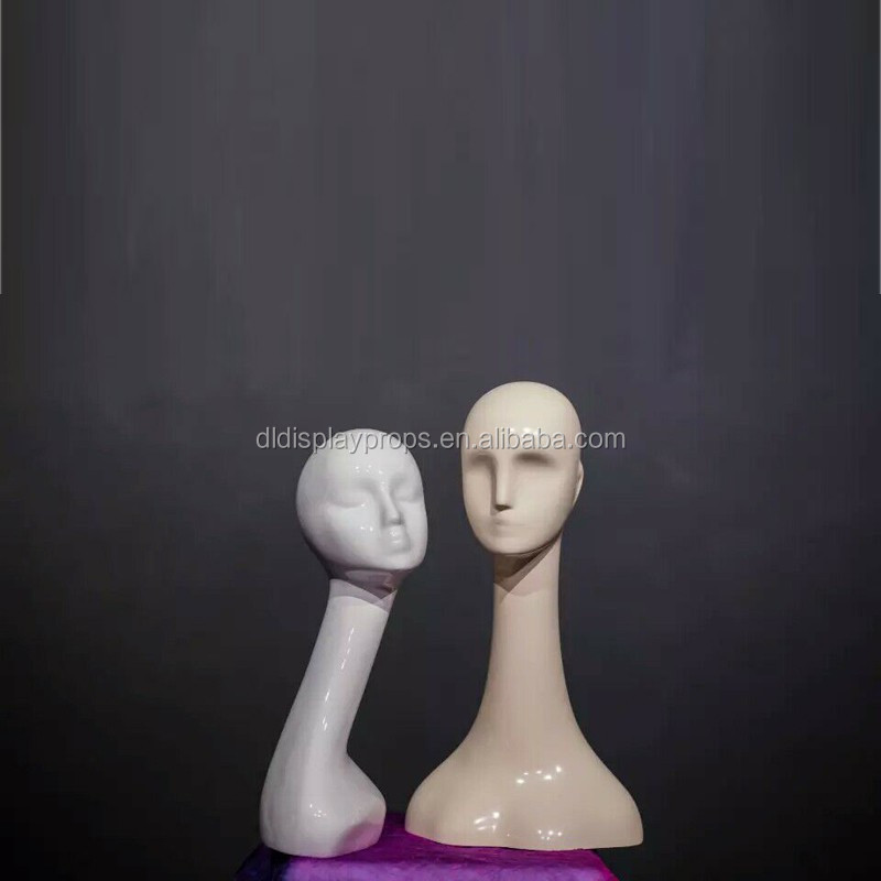 Abstract Wooden Mannequin Head For Hat Display Water