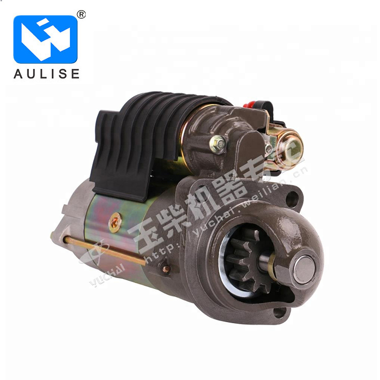 Original  Yuchai diesel engine parts starter motor G5800-3708100G for Heavy Duty truck ARRANCADOR