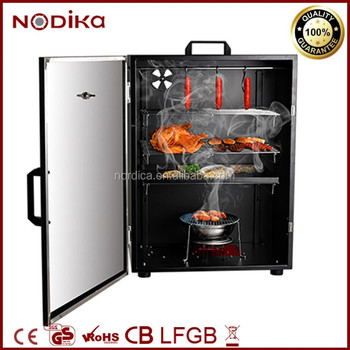 Vertical Smoker Portable Bbq Grill Electric Smoker For Cold Hot ...