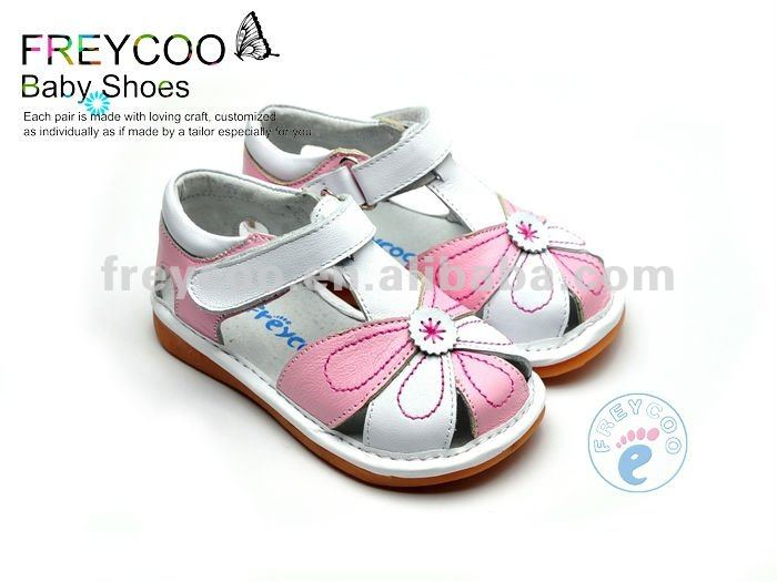 Top quality leather summer Girl sandals PB-6102PK