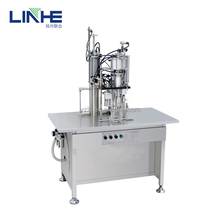 Spray Paint Aerosol Tin Can Filling Machine