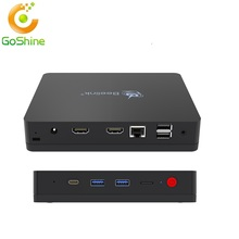 Sii En Intel MINI PC Windows 10 için 4G 64G M1Support <span class=keywords><strong>tv</strong></span> kutusu + Linux Sistemi Ile N3540 Registor Anahtar