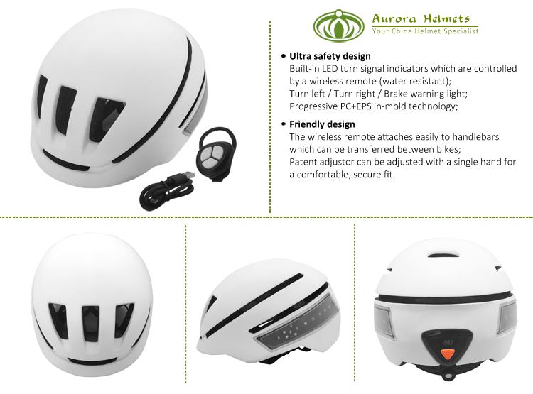 High Quality Urban Bike Helmet With Led Light 8